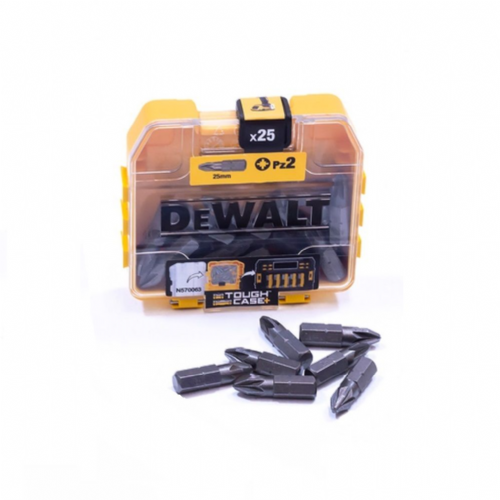 Dewalt DT71521 Screwdriver Bits PZ2 x 25mm Pack of 25